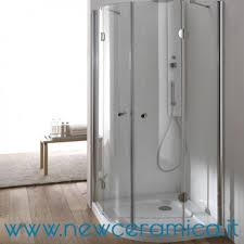 ferbox cabine doccia doccia semicircolare hawa con ante battente ferbox