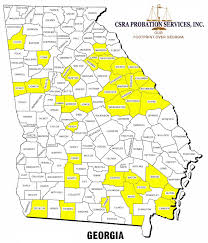 County Map Ga Csra Probation Services Inc Georgia Corrections Corporation