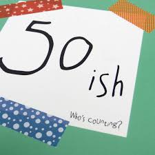 birthday u002750ish u2026who u0027s counting u0027 funny birthday card by wink