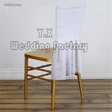 Chiavari Chair Covers Aliexpress Com Buy 50pcs White Color Lycra Spandex Chair Cap
