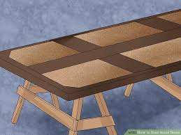 How To Stain Mohagany Doors Youtube by How To Stain Wood Doors 13 Steps With Pictures Wikihow