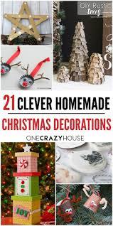 18 clever homemade christmas decorations homemade homemade
