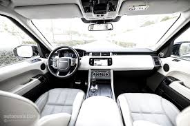 blue range rover interior 2015 range rover sport supercharged review autoevolution