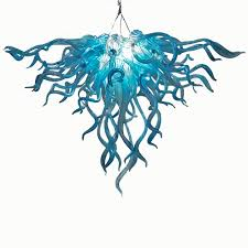 Glass Blown Chandeliers by Buy The Anemone 152 Hand Blown Glass Chandelier