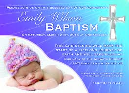 Baptismal Invitation Card Design Invitation Design Contest