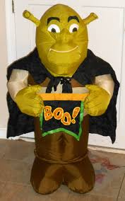 shrek 2 airblown fan inflatable ogre boo halloween vampire gemmy