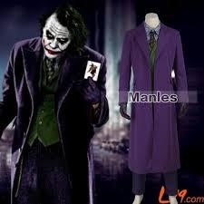 Dark Knight Halloween Costume Batman Dark Knight Joker Costume Batman Joker Suit