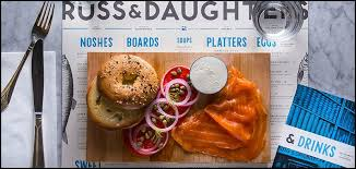 cuisine casher russ and daughters bagel york casher lower east side manger à