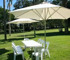 8 X 11 Rectangular Patio Umbrella Coral Coast 8 X 11 Ft Aluminum Spun Poly Rectangle Patio Umbrella