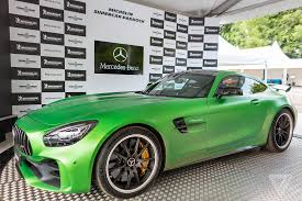 the shockingly green mercedes amg gt r is a track monster the verge