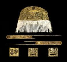 67 best combs china ancient images on hair combs