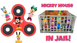 mickey mouse clubhouse fidget spinners jail learn