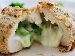 broccoli and cheese stuffed chicken tasty kitchen a