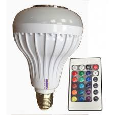 light bulbs controlled by iphone music multicolor led light bulb long life rgb color lights led e27