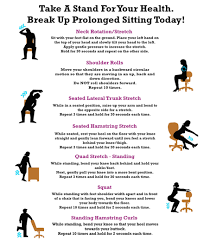 Office Desk Exercise Simple Desk Exercises You Can Do In The Office Shape Singapore