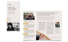 legal advocacy tri fold brochure template word u0026 publisher