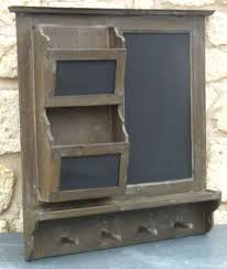 tableau pense b黎e cuisine tableau ardoise pense bete de cuisine mural en bois etagere porte