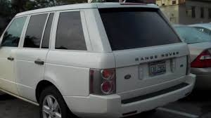 matte white range rover 2003 white out range rover youtube
