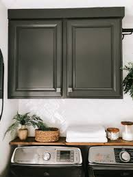 how to trim out cabinets how to paint cabinets and a contrasting trim within the grove