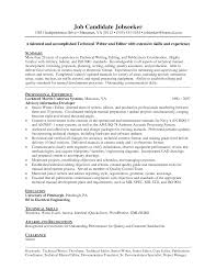 Sample Resume Summaries by Customer Technical Support Resume