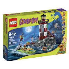 amazon com lego scooby doo 75903 haunted lighthouse building kit