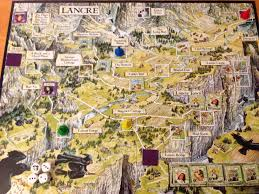 Discworld Map Cards U0026 Dice U0026 Tabletops The Witches Boardgame