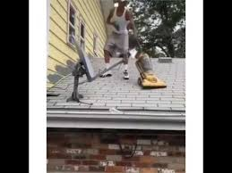 Vaccumming He U0027s Really Vacuuming The Roof Youtube