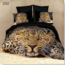 Leopard Bed Set Leopard Print Bedding 3d Bedding Sets Cool Design No