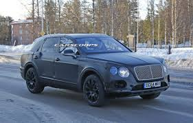 bentley jeep black bentley u0027s new bentayga suv hides its looks behind fake panels