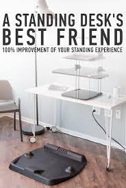 Raised Desk Shelf Cubefit Terramat The Ergonomic Standing Desk Mat By Gerald