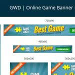 multiple google adwords bannersmakonline graphicriver throughout