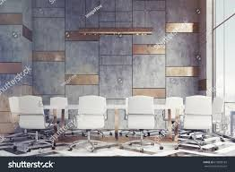 marble conference room table marble gold conference room long table stock illustration 613839182