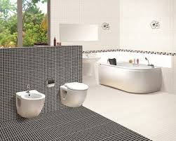 Delighful Mosaic Bathroom Floor Tile Ideas Pattern Inside Design - Bathroom mosaic tile designs