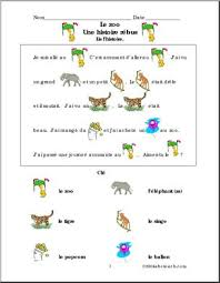 zoo theme units page 1 abcteach