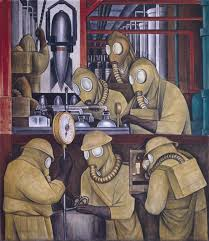 detroit industry north wall detail diego rivera 1932 33 how a famous muralist turned sketches into a masterpiece