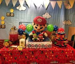 mario baby shower decorations pictures to pin on pinterest pinsdaddy