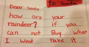 12 awesome kids u0027 letters to santa pictures