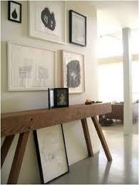 narrow console table for hallway 34x7x34 console table teal blue cedar wood skinny wall table thin