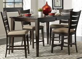 butterfly leaf dining table set with the design of the brick wall