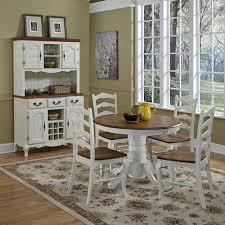 amazon com home styles 5518 30 the french countryside pedestal amazon com home styles 5518 30 the french countryside pedestal table oak and rubbed white tables
