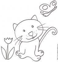 coloriages sur les chats de toutes sortes coloriage chat tête