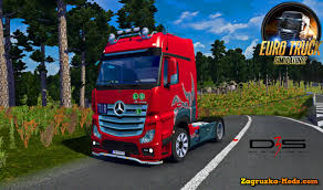 mercedes benz actros mp4 red mercedes benz actros mpiv v2 0 by danz for ets 2 download game
