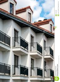 Multifamily Home Balconies In Multi Family House Exterior Stock Photos Image
