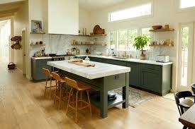 stained kitchen cabinets with hardwood floors planning a remodel in 2021 4 flooring trends you should
