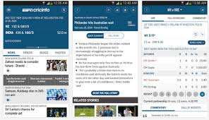 espn app for android espn cricinfo android application