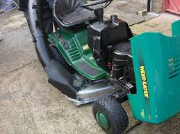 garden tractor weed eater husqvarna 11 5hp 36 full working ready