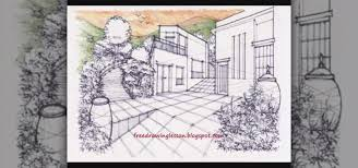 draw color landscape scenery drawing u0026 illustration