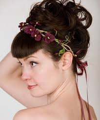 headband flowers 13 best hair styles images on floral headbands boho