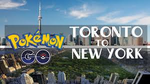 Google Maps New York by Discover Pokemon Go Google Maps From Toronto To New York Youtube