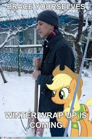 Winter Is Coming Meme - brace yourselves winter wrap up is coming brace yourselves